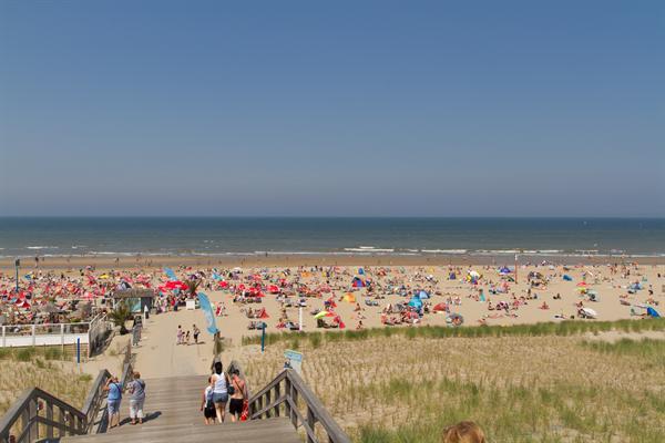 Kijkduin strand zomer