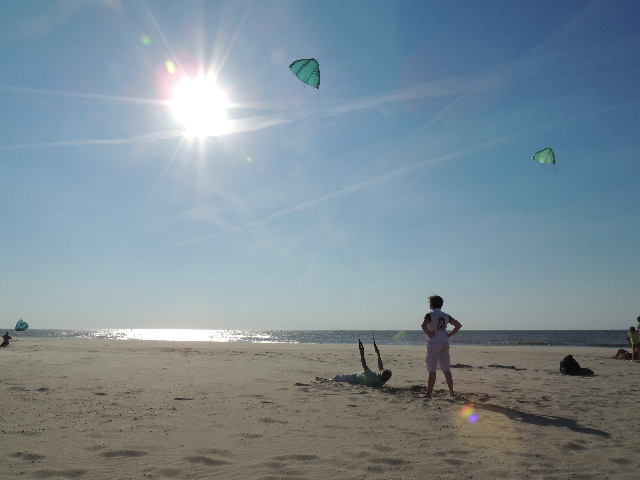 Vliegeren strand Kijkduin