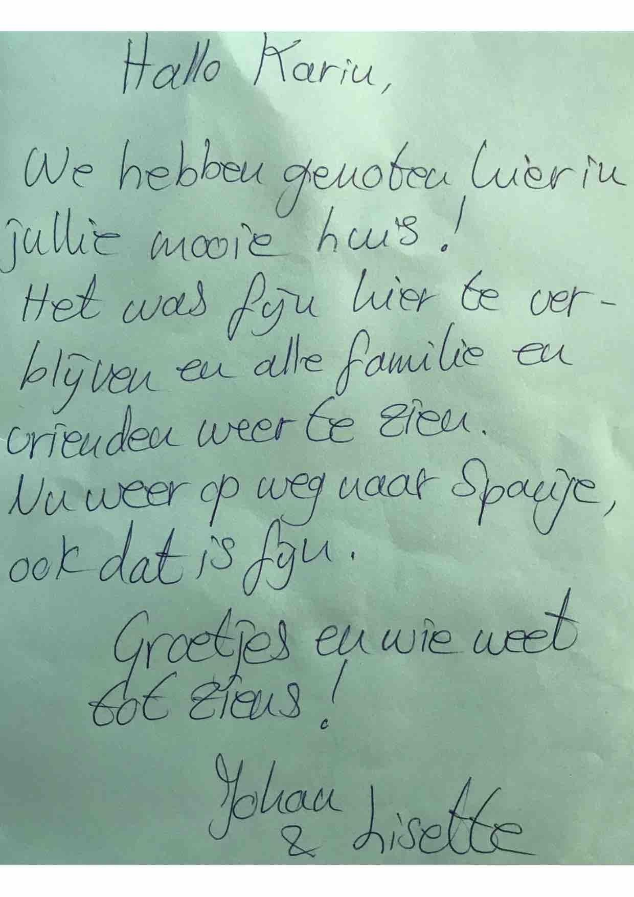 Review vakantiehuis Haags Duinhuis